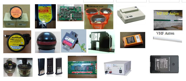 Cung cấp vật tư và phụ kiện của các thiết bị điện - điện tử hàng hải